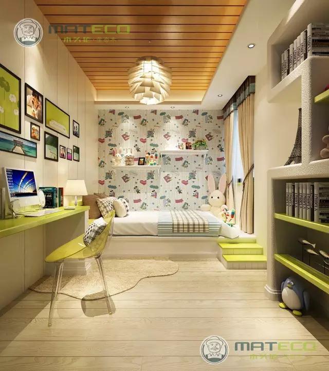 想要把自己的家也装扮成小清新的风格吗?属于我们的空间,应该给它打扮的漂漂亮亮的。木头佬小编今天带大家一起欣赏一下吧!  100平面板(象牙)+300平面板(立体白橡) 客厅背景墙上的壁画同电视背景墙上的造型对应起来,让整个客厅的小清新感觉迎面而来,看上去一眼便已经让人难忘。头顶复古吊灯散发出的微黄灯光同浅绿色色调相互对应,走入这样的房子里,心会在瞬间便被温暖。  100X10平板(象牙) 餐厅的位置里白色的椅子搭配黑白色的桌子,浅绿色的墙面,怀旧的相册,桌面上白色的满天星作为点缀,整个餐厅的小清新感觉瞬间